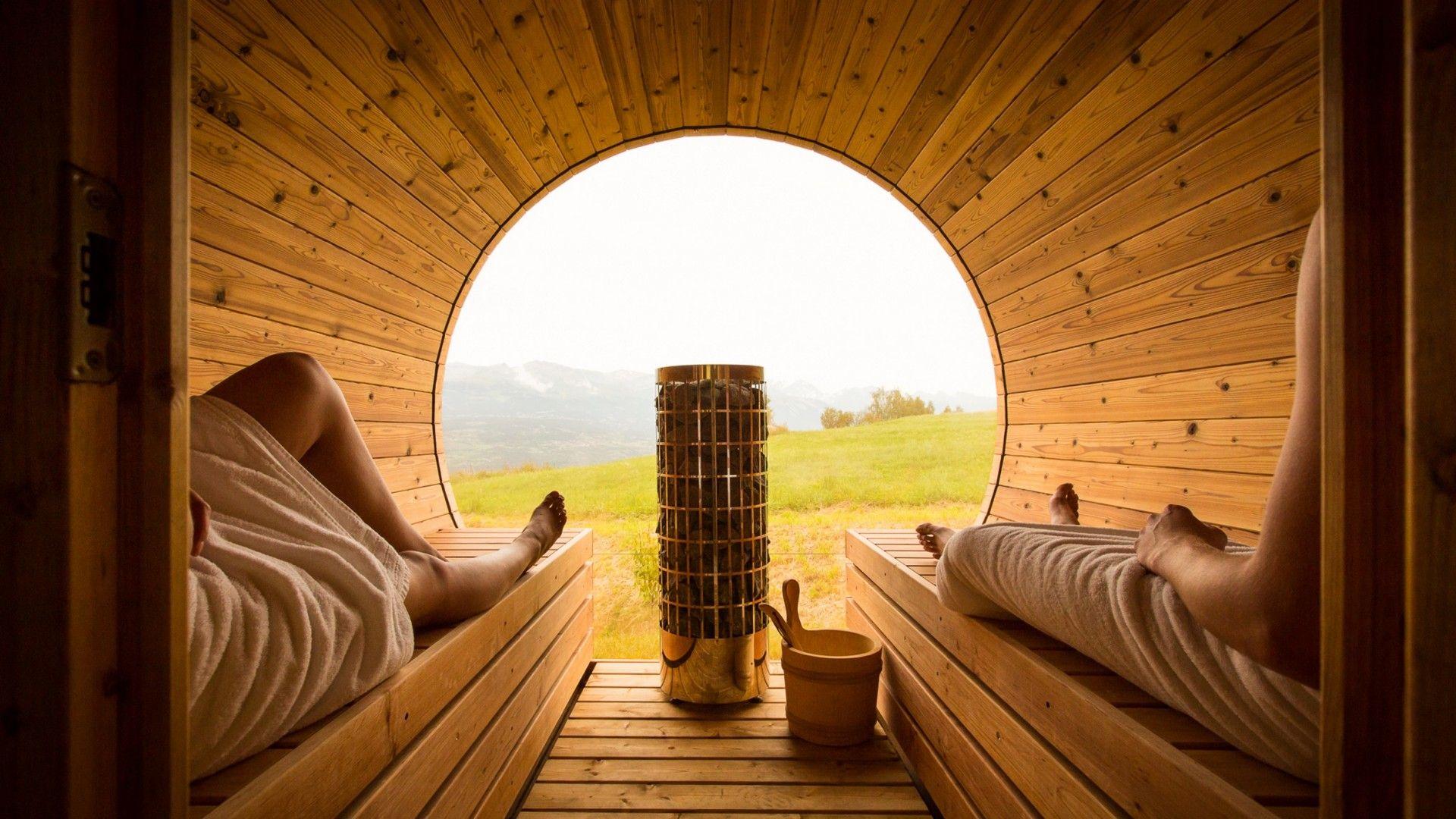 Sauna insolite