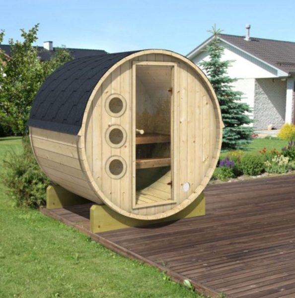 Sauna tonneau 160