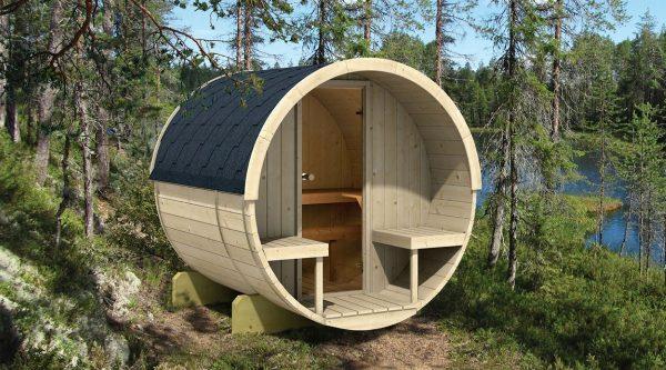 Sauna tonneau 200