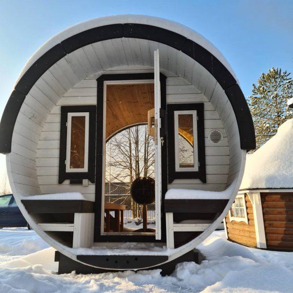 Sauna tonneau 250
