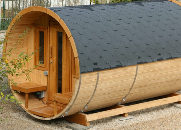 Sauna tonneau 350