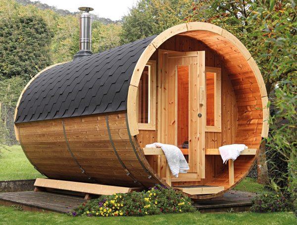 Sauna tonneau 400