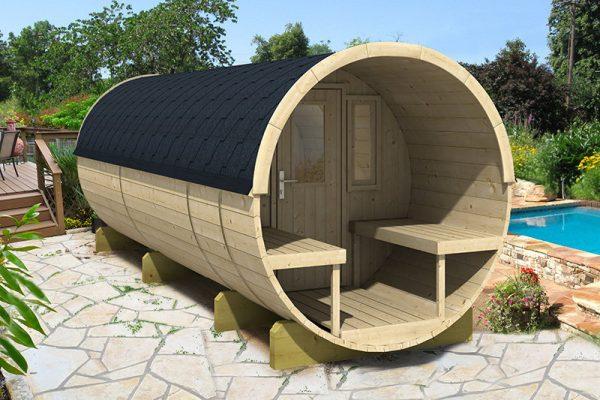 Sauna tonneau 480