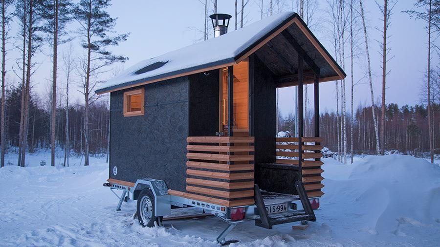 Sauna mobile Mini Laponia