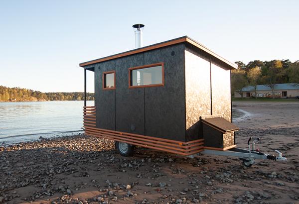 Sauna mobile Laponia