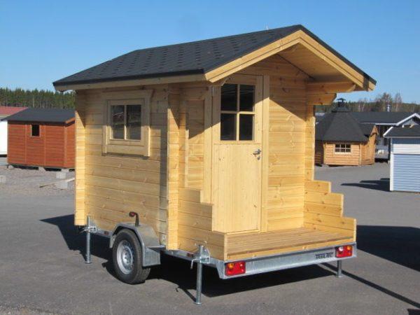 Sauna mobile madrier small