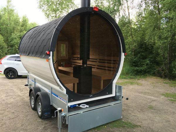 Sauna Mobile Tonneau Vision