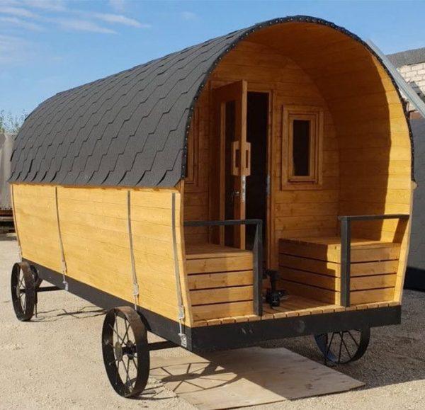 Sauna mobile Western