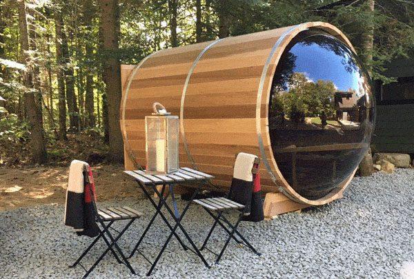 Sauna Bulle Red Cedar 180