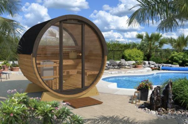 Sauna terrasse 160 panoramique