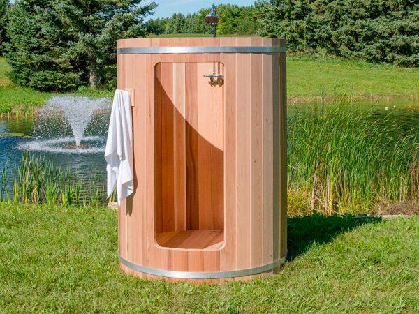 Douche extérieur Tonneau
