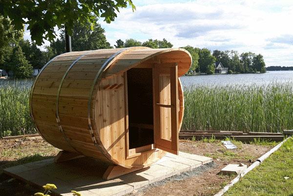 Sauna Red Cedar 240