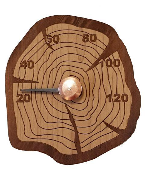 Thermomètre de sauna en pin