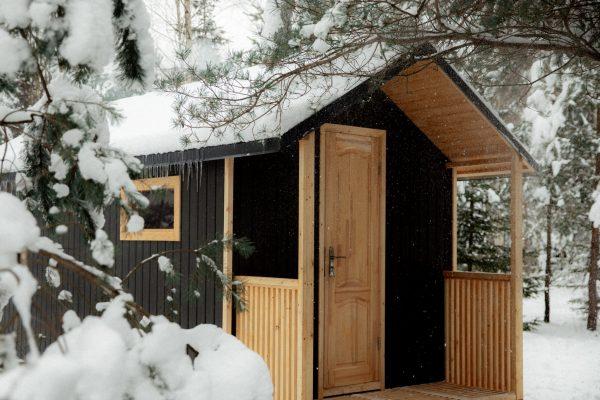 Sauna Chalet Winter